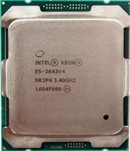 Intel Xeon E5-2643 v4 3.4GHz 20MB Cache LGA2011-3 Broadwell CPU
